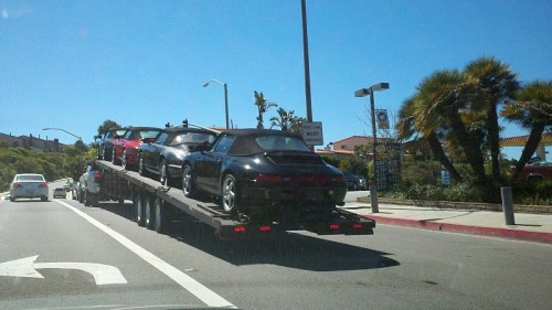 Happy US Porsche 911 on their way to Germany!
